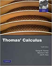 Thomas' Calculus Global Edition