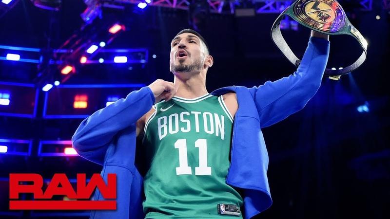Boston Celtics center Enes Kanter wins 247 Title Raw Exclusive, Sept. 9, 2019