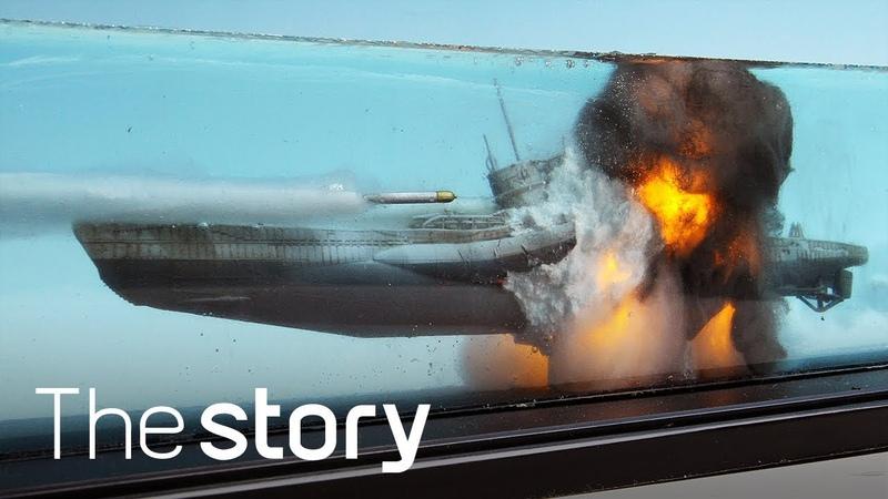 디오라마 장인의 '미친' 표현력! 잠수함(U-boat)이 폭발한다 : 함선 디오라마 제작, 이원희(ENG/KOR/JPN sub)