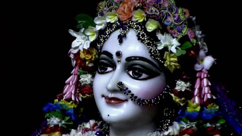 Darshan of Sri Sri Radha Madhava (August 17, 2019)