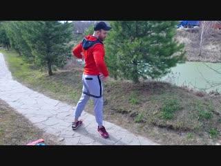 Лечебная гимнастика с фитнес-резинкои для тазобедренного сустава