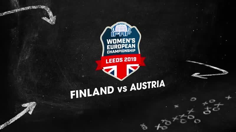 IFAF Womens European Championships 2019 -Finland v Austria