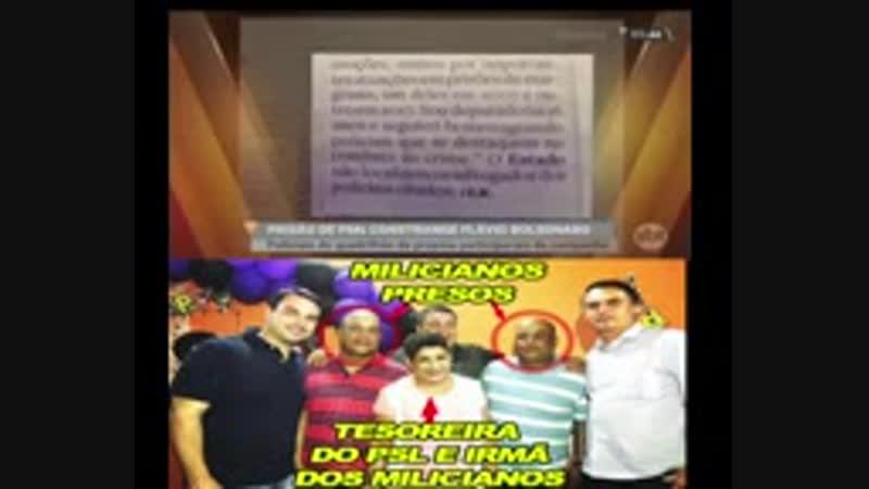 Família de Bolsonaro tem envolvimento com Milicianos_144p.3gp