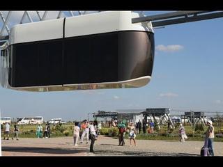 Транспорт будущего  когда в Минске запустят «парящие кабины» SkyWay   МИР 24