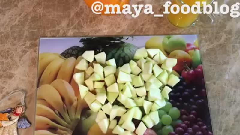 Апельсиново манговый смузи