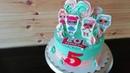 Торт Куклы LOL от katyacakes
