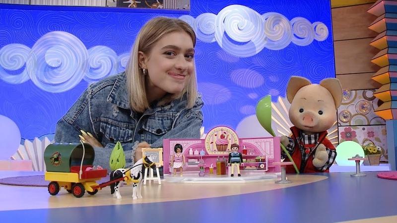 Набор PLAYMOBIL Кондитерский магазин и Повозка - Обзор игрушек - Игроблог с Хрюшей