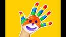 Учим Цвета! Красим пальчики Для Самых Маленьких!