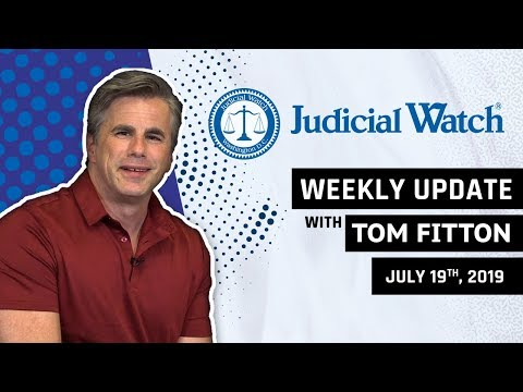 Tom Fitton Obama State Dept Caught in RussiaGate Ilhan Omar Marriage Scandal KY Voter Rolls