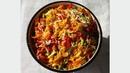 Витаминный овощной салат из капусты помидоров перца огурцов моркови на зиму без стерилизации