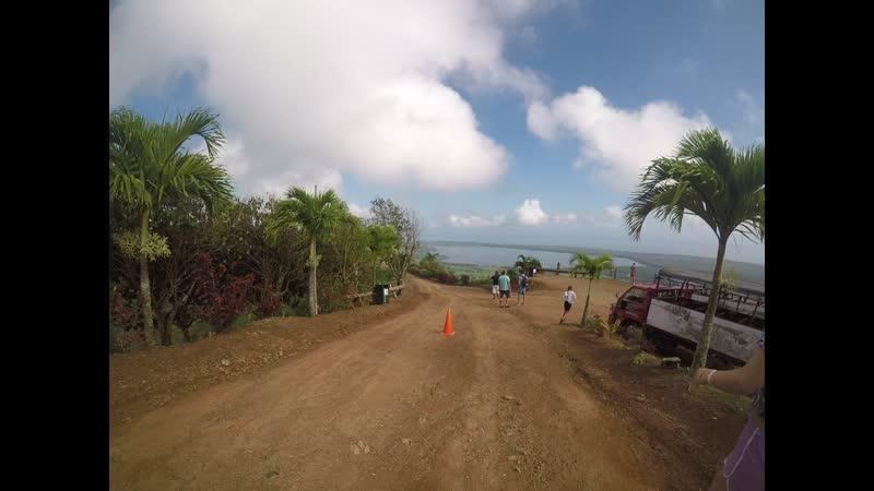 Манговая роща на горе Родонта Доминикана