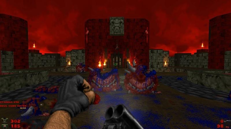 Whispers of Satan   Level 26: Hellhole [Brutal Doom: Black Edition v3.1d Final]