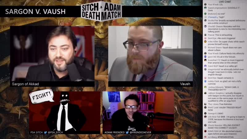 Sargon vs Vaush debate highlights