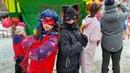 Леди Баг и Супер Кот против Корона-Вируса! День Влюбленных 2020 в Нескучном дворе))