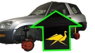 1997 RAV4 Old Man Emu lift kit installation and suspension restoration (episode 6)