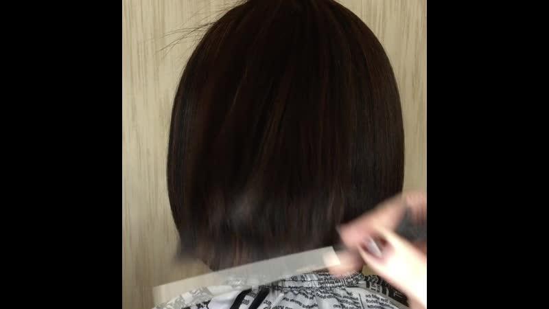 До После кератиновое выпрямления волос Zap Me Leva Бразилия