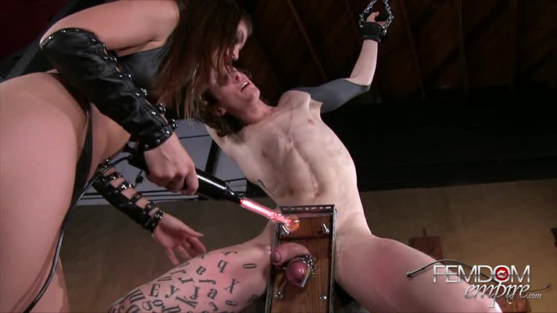 Teen odrina forced to cum while electrocuted