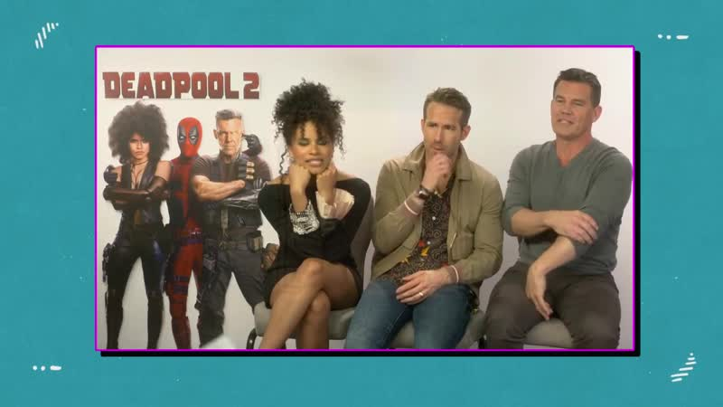 Ryan Reynolds Zazie Beetz and Josh Brolin Play a PROPA BELTA game of Slanguage 2018 2019