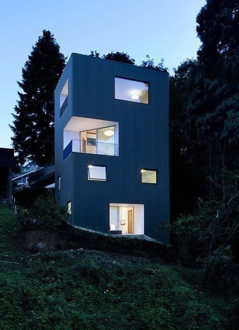 Tower House in  Portland, Oregon, by architect Ben Waechter