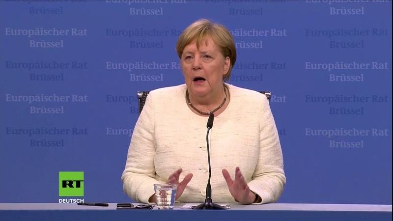 Merkel Verteidigungsministerin von der Leyen als Juncker Nachfolge nominiert