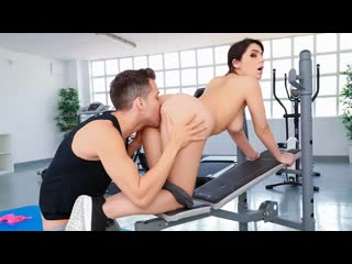 Valentina Nappi - Big Titty Workout |  All Sex Big Tits Workout Gym Oil Reverse Cowgirl Brazzers Porn Порно