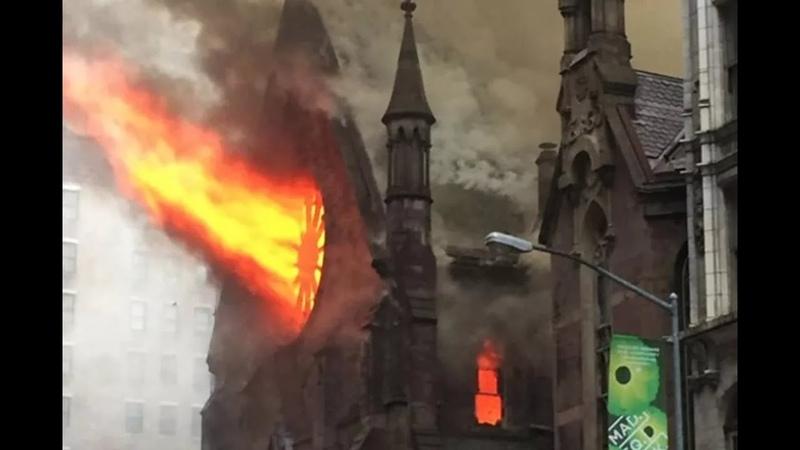 Почему массово горят старые церкви? Кому это выгодно?
