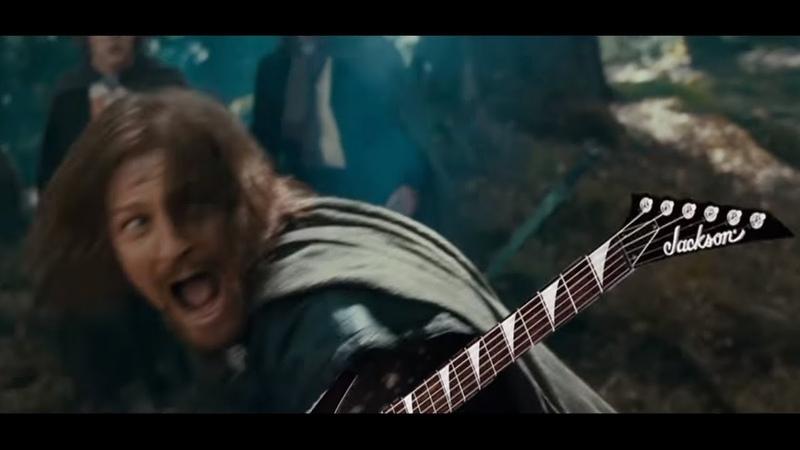 Boromir Finds An Ancient Guitar
