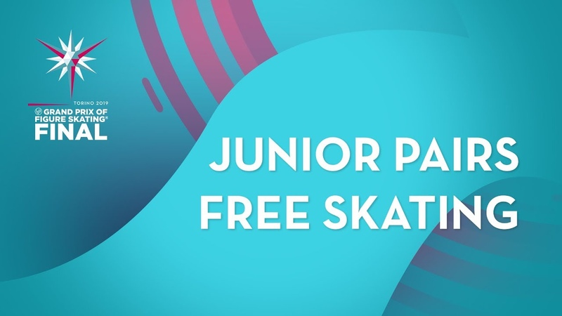LIVE 🔴 | Pairs Free Skating | ISU Junior Grand Prix Final | Torino 2019 | JGPFigure