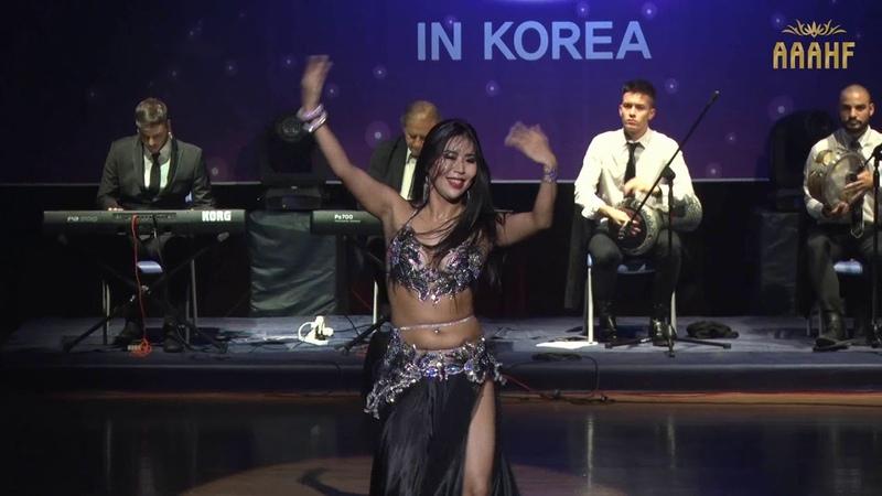 Alf Leila Wa Leila Tabla - Jinhee Kim - Improvisation with Mario Kirlis