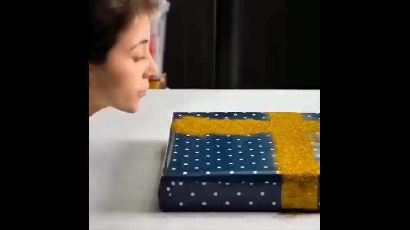 Пакуем подарок красиво