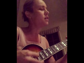 Brie larson god is a woman (cover)