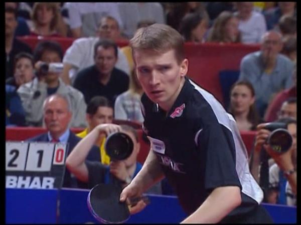 Table Tennis Attack SCHLAGER Vs Defense JOO SE HYUK LXVIII