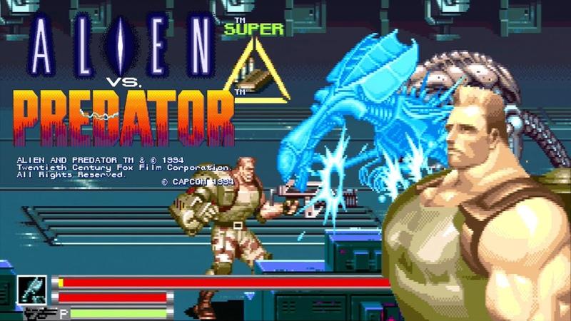 Alien Vs. Predator Schaefer Lv8 Nomiss ALL [Arcade] エイリアンVSプレデター シェーファー Playthrough