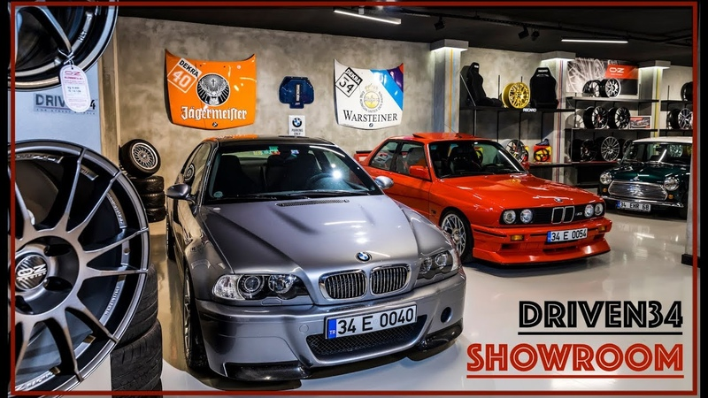 Driven34 Showroom Mancave