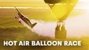 An unexpected aerobatics session through hot air balloons w/ Kirby Chambliss.