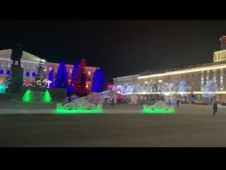 Площадь Ленина. Курган
