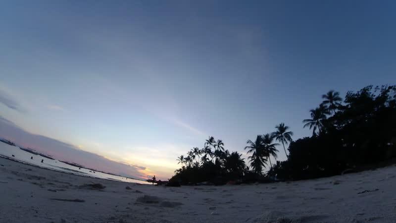 Сумасшедшие закаты Алона бич Панглао Филиппины 2019YDTL0311