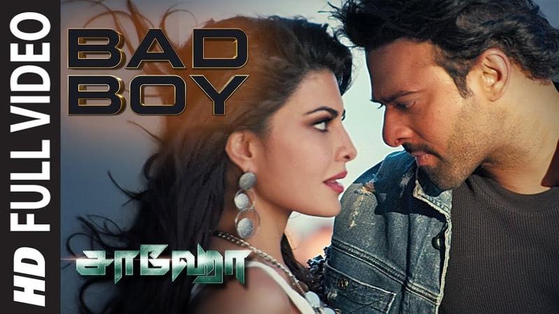 Saaho Bad Boy Full Video Prabhas Jacqueline Fernandez Badshah Benny D Sunitha S