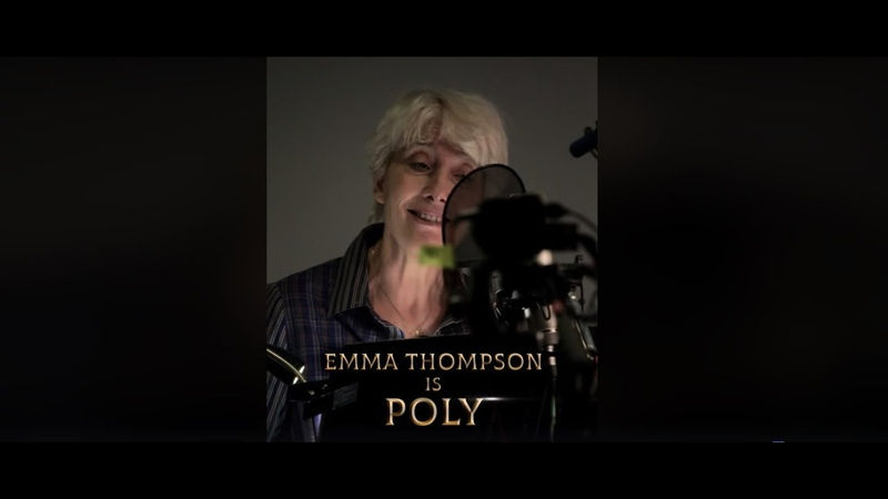 Emma Thompson is Poly the parrot in DolittleMovie