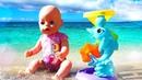Baby Born nage dans la mer Jouets pour bébés Vidéo en français pour enfants