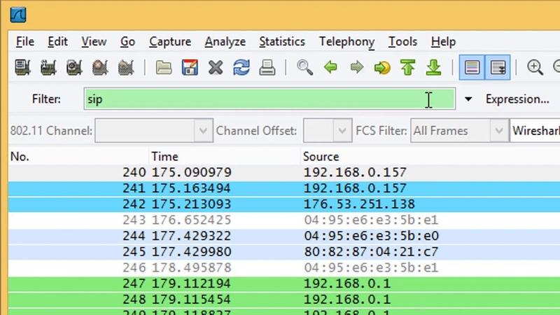Безопасность VoIP ч3 Прослушивание телефонного разговора при помощи программы Wireshark