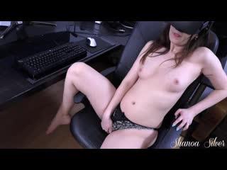 I got caught masturbating to vr porn... shanoa silver