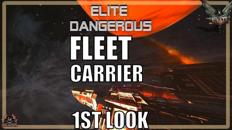 Elite Dangerous Fleet Carriers 1st Look Beta 1   Elite dangerous 2020