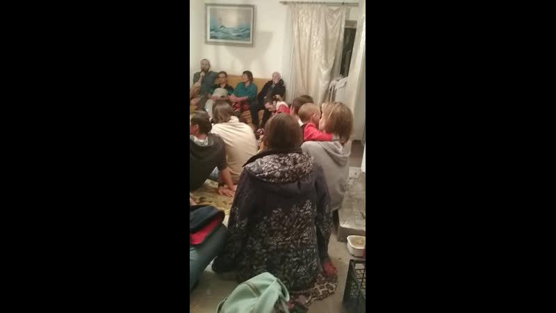 Моя большая семья слёт сыроедов у нас собрание