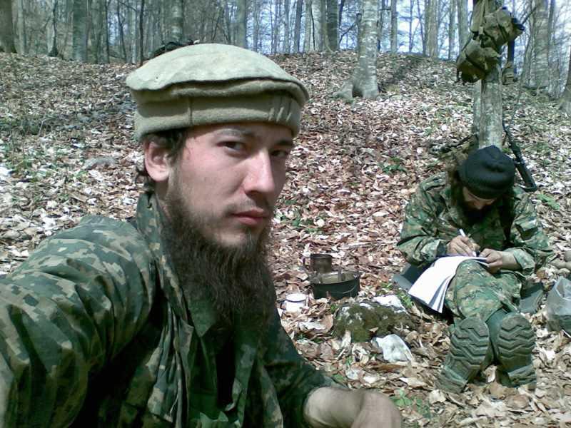 Чеченский полевой командир Саид Бурятский (Александр Тихомиров)