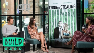 Theo James & Emily Ratajkowski Talk About The Movie, Lying and Stealing