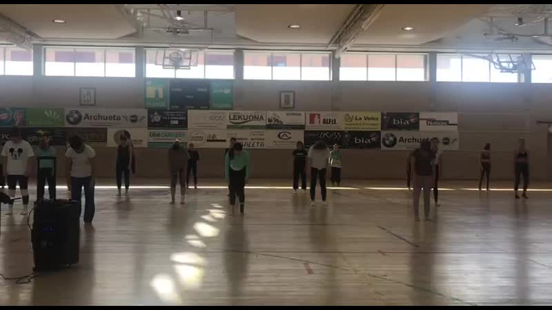 Marta Coronado classes Dass in Pamplona 2019