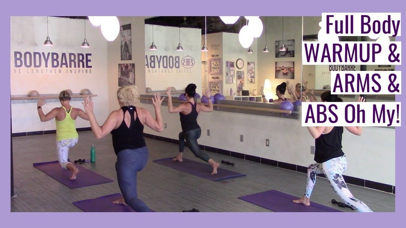 FULL BODY 🍑 Off the Barre 🍑 Workout with Paige! Warmup, Arms and Abs!
