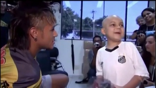 """Little boy: """"If you score a goal can you do this dance?"""" Neymar: """"I will do that one then, deal?""""😻"""