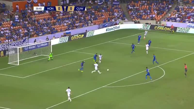 Гол Леандро Бакуны на Кубке КОНКАКАФ